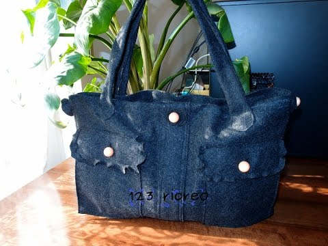 Full download costruisci un originale clutch di jeans for Borsa jeans tutorial