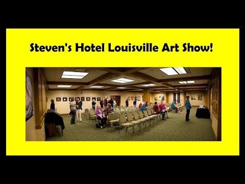 Hotel Louisville Art Show 2016 Exhibition - Steven Carroll & Joan Zehnder