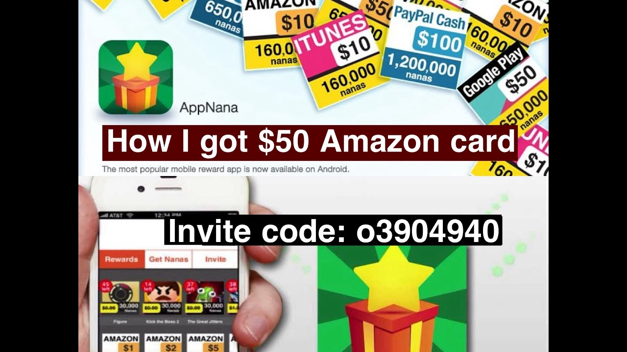 appjoy  how i got and redeemed  amazon gift cardproof, invitation samples