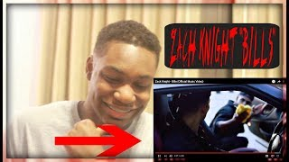 AMERICAN REACTS TO ZACK KNIGHT - BILLS (Official Music Video)