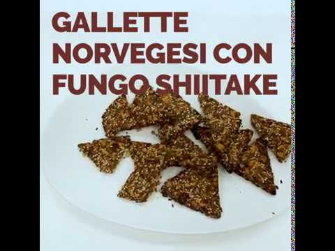 Gallette norvegesi con Shiitake IoBoscoVivo