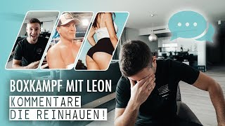 Boxkampf mit Leon   Kommentare, die reinhauen!   inscope21