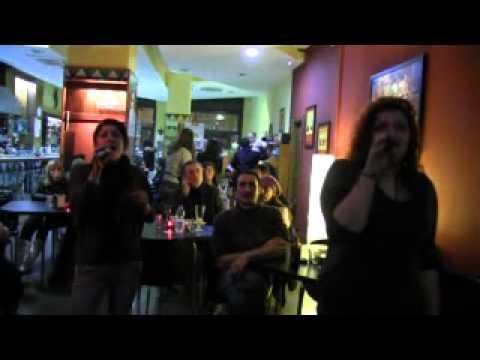KARAOKE AL CORTINA CAFFE' CON AMIDA 21.mp4