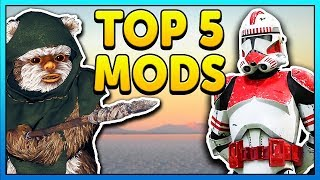 TOP 5 MODS OF THE WEEK of Star Wars Battlefront 2 Episode 17! This ...