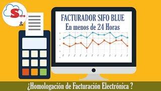 Homologando Sistema de Facturación Electrónica Sunat    SIFO