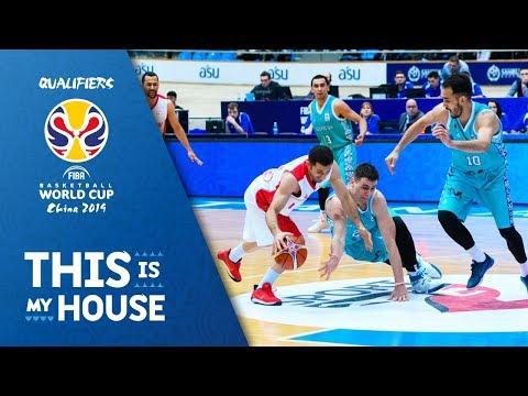 Kazakhstan v Iran - Full Game - FIBA Basketball World Cup 2019 - Asian Qualifiers