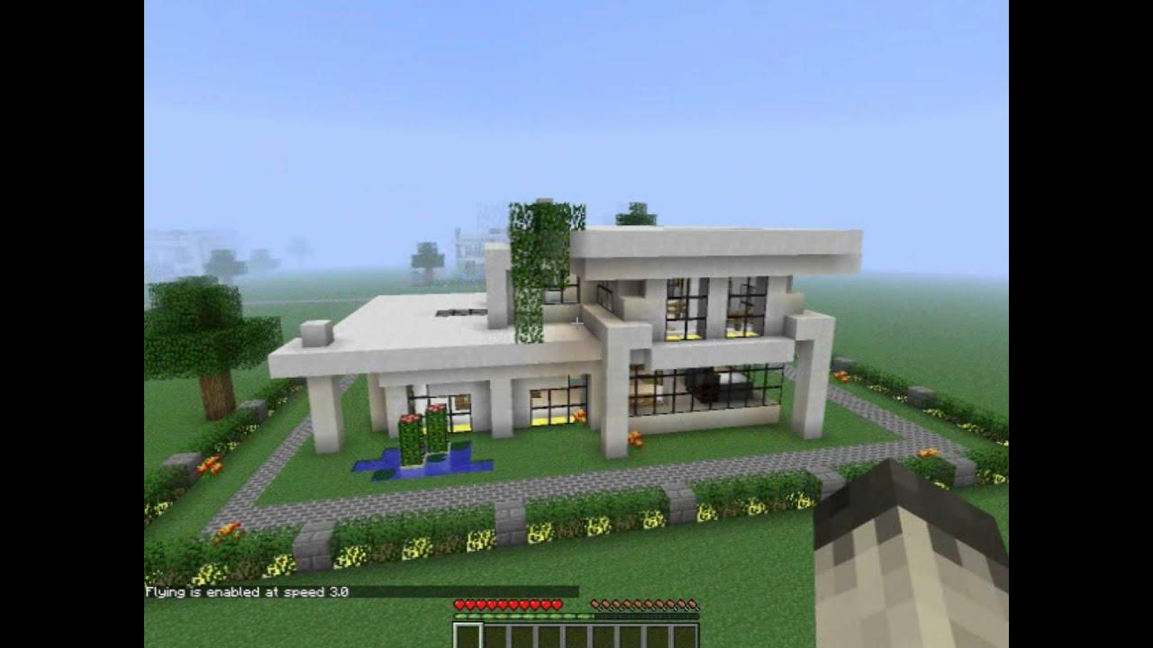 Minecraft modern neighborhood house four download hd youtube