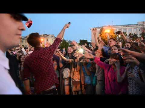 """видео: Выступление группы """"Пицца"""", Йошкар-Ола, """"Последний звонок-2014"""""""
