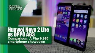 Huawei Nova 2 Lite vs OPPO A83 Comparison: A Php 9,990 smartphone showdown