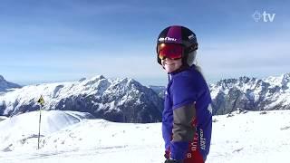 Alpe d'Huez première piste !