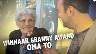 Oma To is de leukste oma van Nederland en wint de Granny Award - Ekdom in de Ochtend