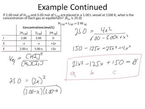 Quadratic equation ice table equilibrium calculations also youtube rh