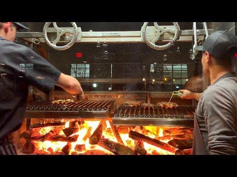 Probando Carne Añejada a la leña| La Capital