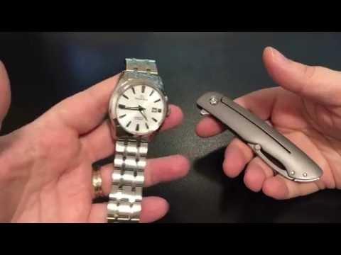 Watch & Knife review: Orient Star Standard Date & CRKT Swindle