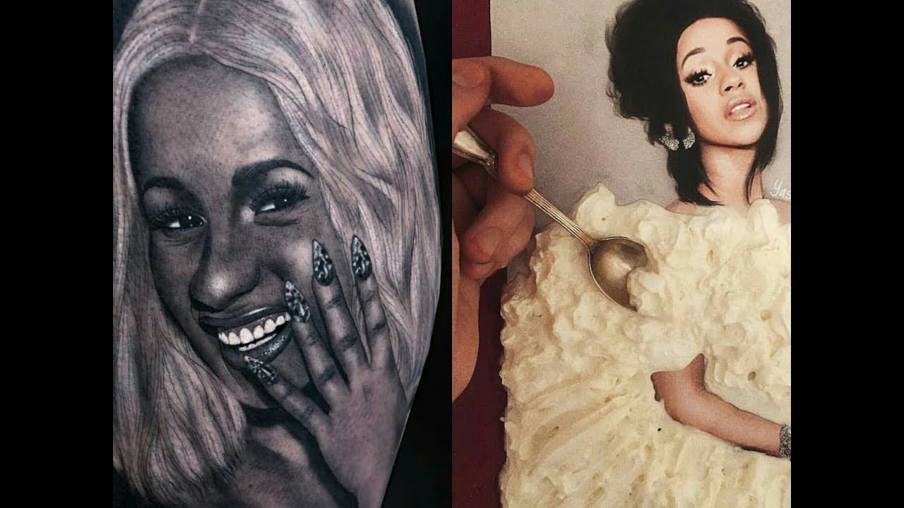 Cardi B S 8 Tattoos Their Meanings: Cardi B Tattoos That Will Shock You