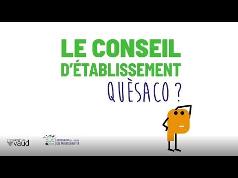 Le Conseil d'Etablissement, quèsaco? - YouTube