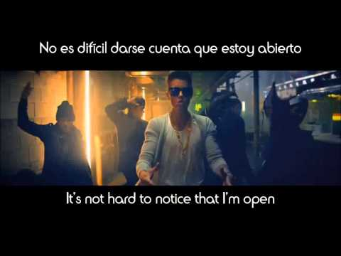 Confident Justin Bieber Lyrics Español/Inglés.