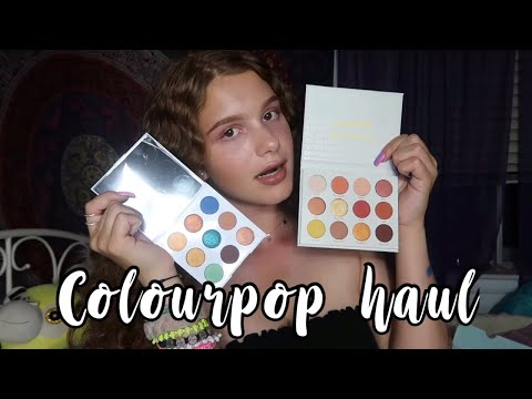 HUGE COLOURPOP HAUL 2018