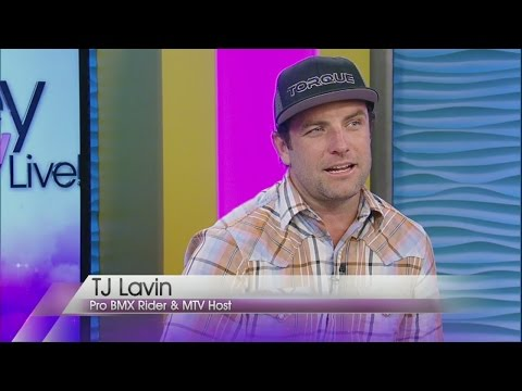 MTV host TJ Lavin guest hosts on Valley View Live!