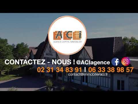 ACI COMMERCES -  500 M² CABOURG TRES RARE A LA VENTE HOTEL MURS COMMERCIAUX