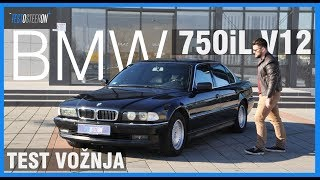 DRAGULJ 90-ih///TEST BMW 750iL V12 (E38)///5.4l 326hp 1996