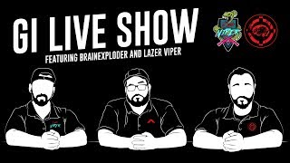 Live Show Ft. The Brainexploder and The Lazer Viper - Airsoft GI
