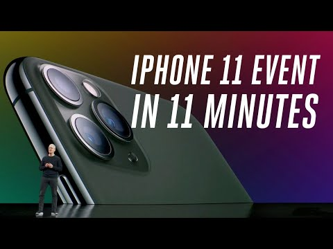 Maddox - Everything You Need To Know From The Apple iPhone Event In 11 Minutes!