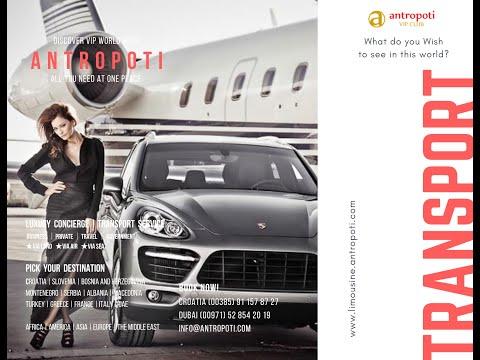 Antropoti Concierge | English - Transport Brochure