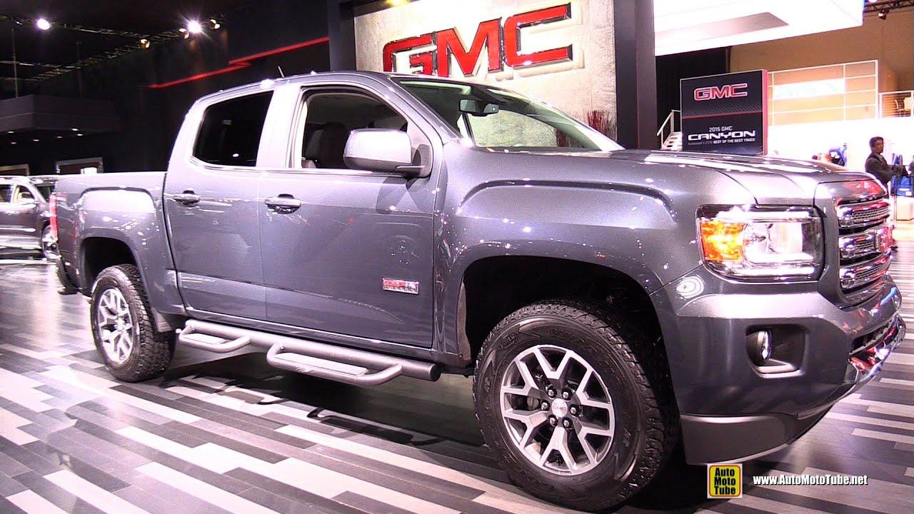 2015 gmc canyon all terrain exterior and interior walkaround 2015 detroit auto show youtube