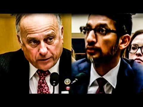 Google CEO Dumbfounded By Steve King's Idiotic Questions