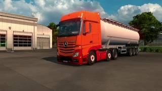 ETS 2 - Actros MP4 Low Chassis Mod