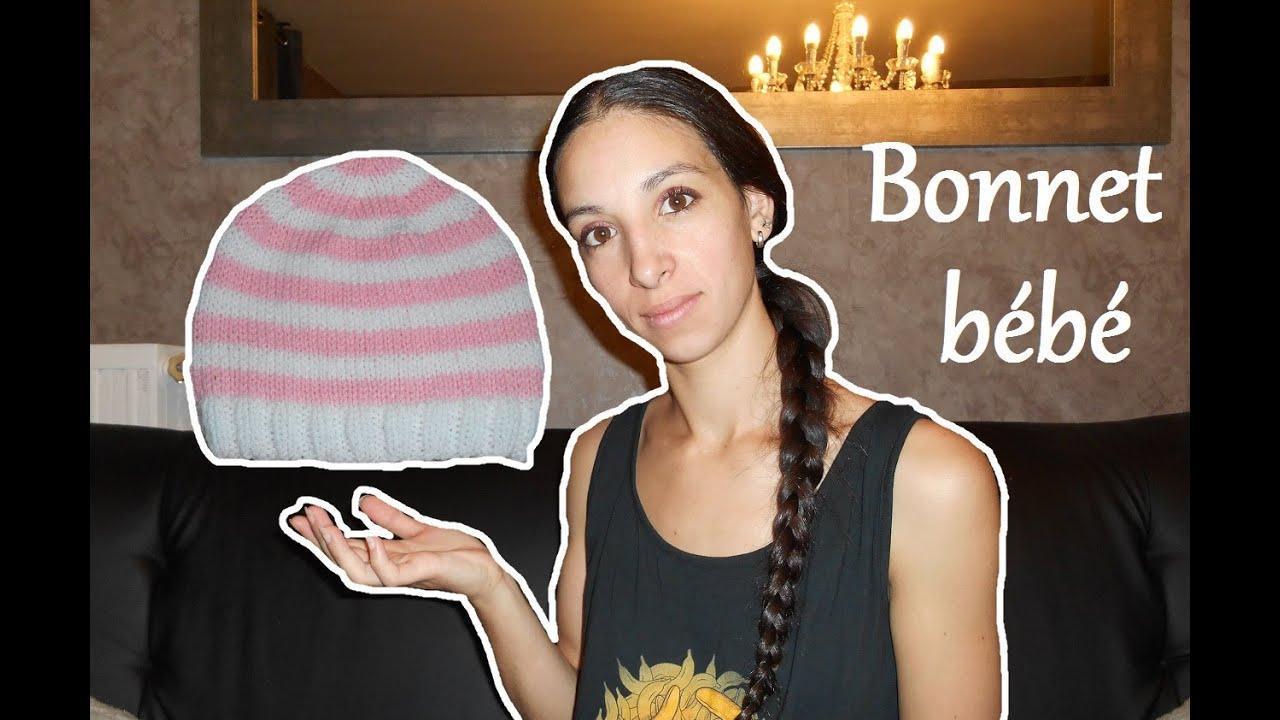 8b28e5e8c479 Cadeau de naissance   Faites lui un bonnet   knit baby cap birth ...