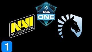 Navi vs Liquid Game 1 ESL One Genting 2018 Highlights Dota 2