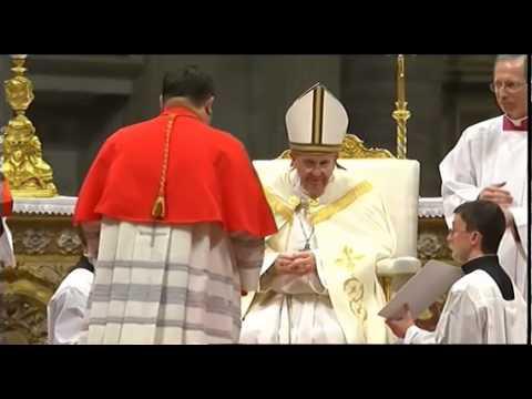 Concistoro, Papa Francesco crea 19 nuovi cardinali