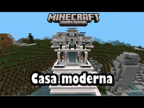 Descarga casa moderna para minecraft pe 0 9 5 alpha youtube for Casas modernas minecraft 0 9 5
