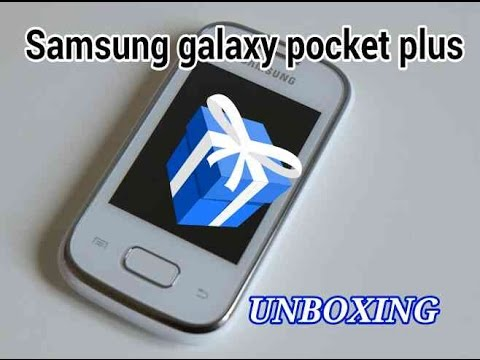 Samsung galaxy pocket plus unboxing Brasil