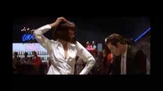 dancing(john travolta with uma thurman ...pulp fiction movie)