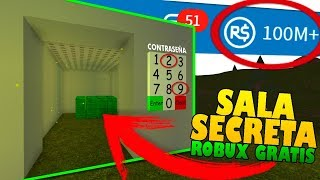 enters the secret room and get millions of free ROBUX! ROBLOX [HUNTING MYTHS]