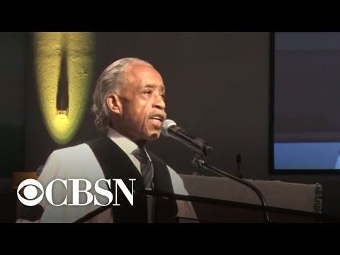 Rev. Al Sharpton gives eulogy for George Floyd at funeral service in Houston