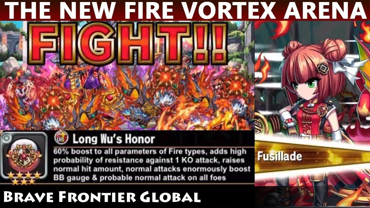 The NEW Fire Vortex Arena Infernal Showdown - 1st Day Gameplay (Brave  Frontier Global)