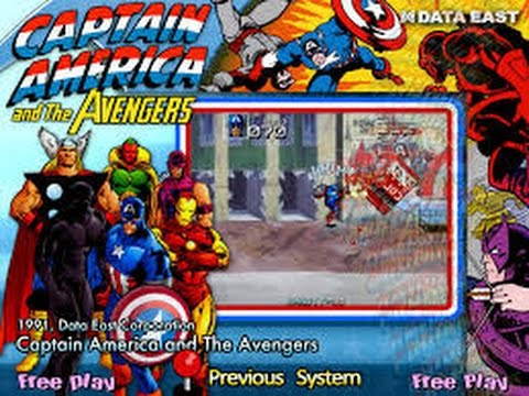 Captain America and the Avengers (Arcade)