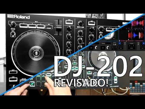 Revision Roland DJ-202 Controlador Serato DJ: ¿Qué tan bueno es?