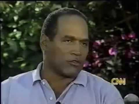 OJ Simpson interview - Greta  '95