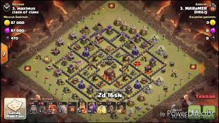 CLASH OF CLANS TH10 BINICI ILE 3 YILDIZ ALMAK 2