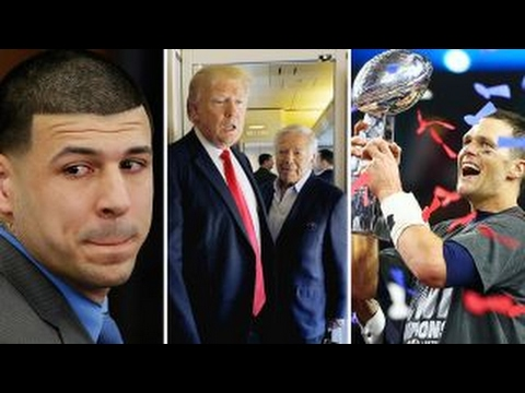 Day Hernandez kills self, Trump welcomes some Patriots to WH