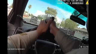 Las Vegas Shooting: Watch cop's body cam of dramatic chase, shoot-out