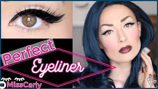 ✨How To Do a Perfect Winged Eyeliner!✨ Drugstore Make-up | Easy