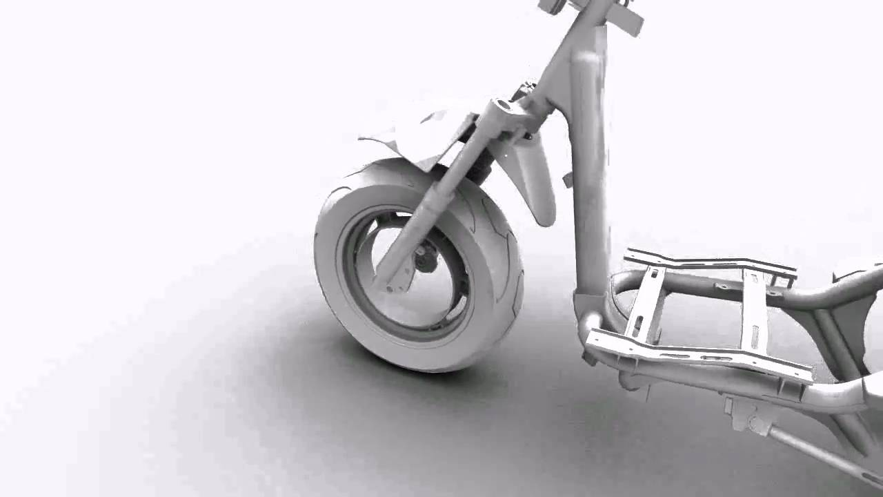scooter frame - YouTube