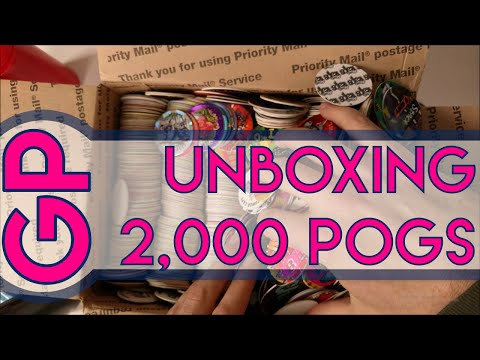 Unboxing 2,000 Pogs - Get Pogged
