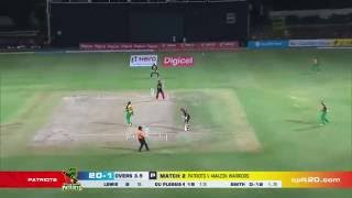 faf du plesis six vs srh